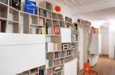 Billowing Bookcases