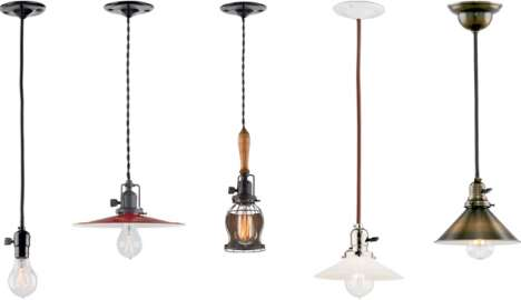 Antiquated Hanging Lights