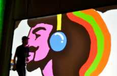 Digital Graffiti Art - Chairman Ting's Graphic Performances Merge Technology and Art