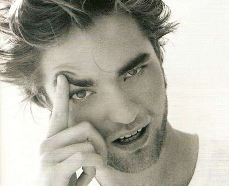 From Robert Pattison's Hair Shoots to Bloody Editorials
