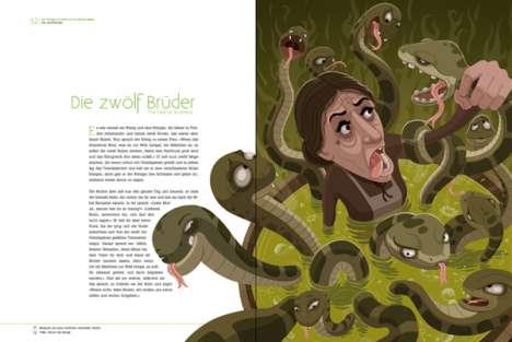 Reimagined Fairytale Illustrations