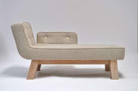 Asymmetrical Arm Chairs