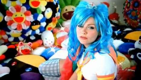 Celeb Anime Music Videos