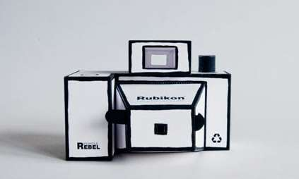 Folded Paper Cameras