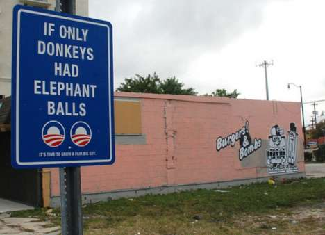 Social Commentary Signs