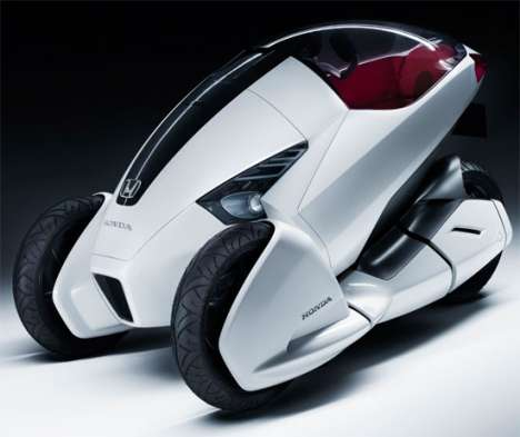 Single-Seater Sedans - The Honda 3R-C is Unveiled in Advance of the Geneva Motor Show