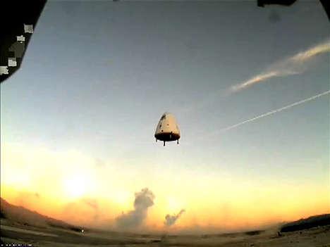 Passenger Space Rockets