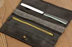 Rubber Billfolds - Wallets Made from Old Inner Tubes Will Never Fall Apart