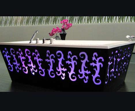 Backlit Bathtubs