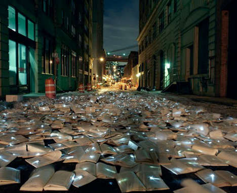 Novel Light Installations