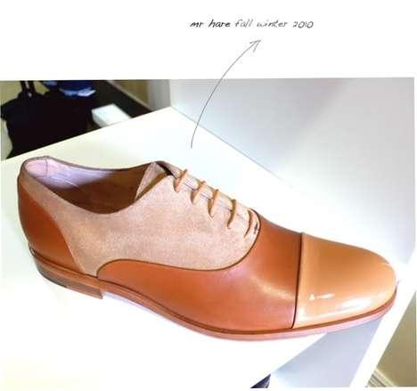 Tri-Tone Camel Shoes