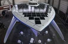 Super-Sized Solar Boats