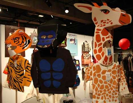 Giraffe Kiddie Fashion - Tokyo Kids' Fashion Fair is Strictly for Stylish Tots