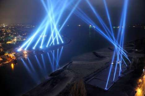 Crowdsourced Light Shows