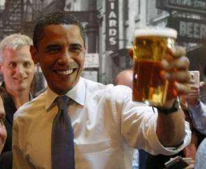 Mr. Obama Owes Canada a Case of Brew Thanks to U.S. Hockey Loss