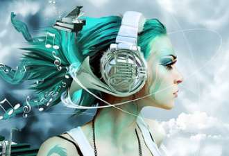 French Horn Headphones