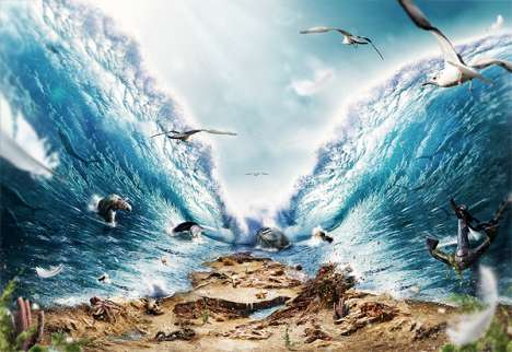 Epic Aquatic Renderings