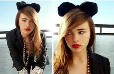 Minnie Mouse Headgear - Juliett K. Rocks Animal Ear Headbands