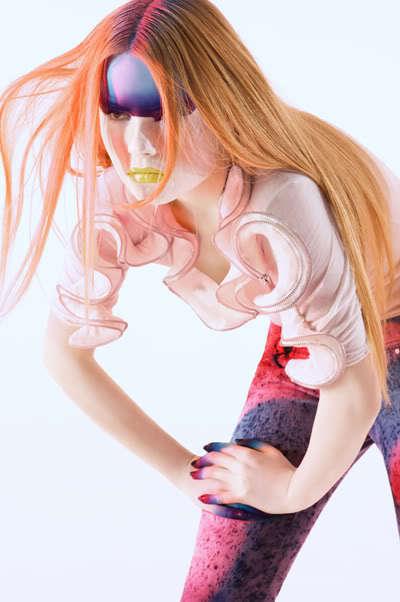 Multicolored Makeup Masks