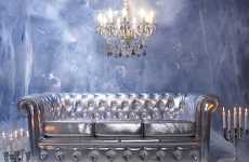 Luxury Igloo Interiors - The Modani Baroque Furniture is Frostily Extravagant