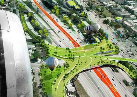 Greenified Freeway Cities