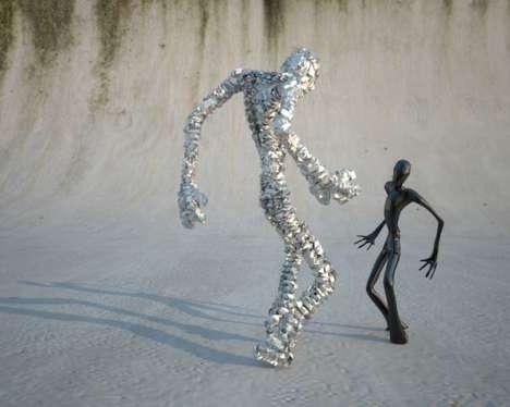 Dancing CGI Figures