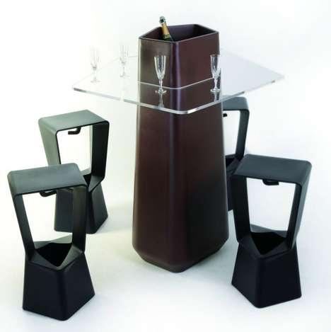 Built-In Bucket Furniture