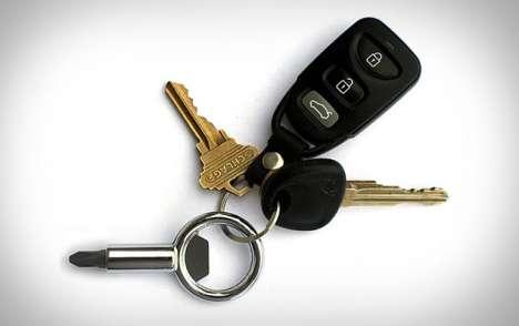 Macho Keychain Tools