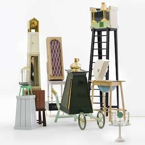 Quirky Stacked Designs