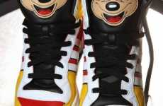 Mouseketeer High Tops - Mickey Mouse Adidas Sneaks Designed by Jeremy Scott