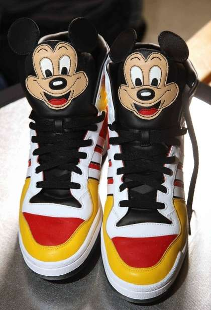 Mouseketeer High Tops