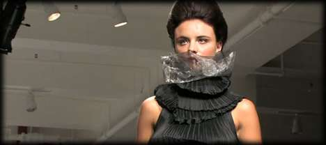 Recycled Trash Turned into Couture by Designer Gary Harvey