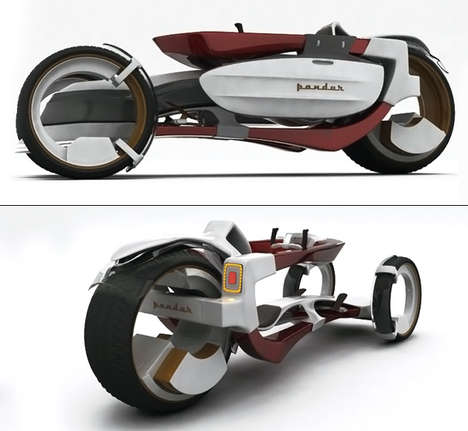 Mood-Improving Cycles - Pandur Concept Vehicle by Popescu Lucian is the Happiest Vehicle Out There