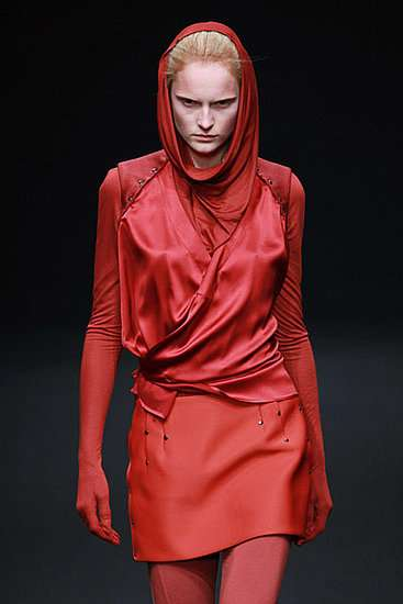 The AF Vandevorst A/W 10-11 Line is Ravishing in Red