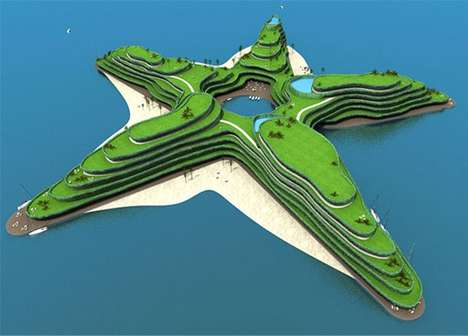 Star-Shaped Mini-Cities