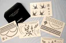 Temporary Chanel Tattoos - Get Branded With the Logo of Ultra Luxury Brand Chanel