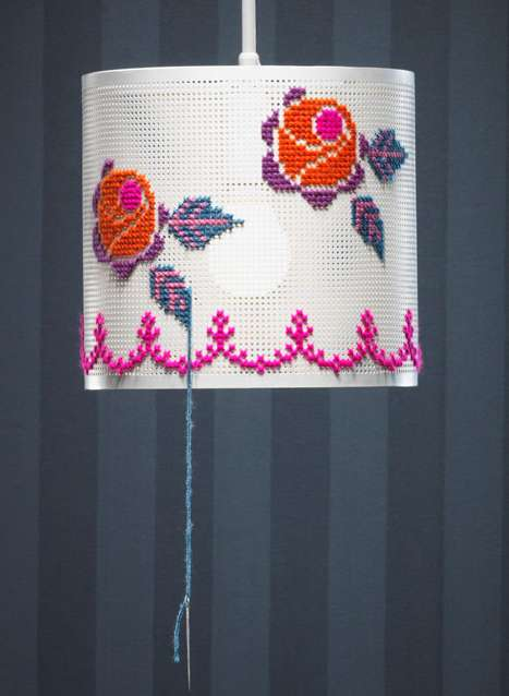 DIY Needle Point Lighting