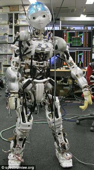 Human-Spined Robots