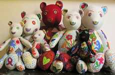Colorfully Crafty Teddy Bears