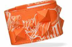 Couture Paper Bangles - The DIY Hermes 'Dog Collar' Bracelet Adds Flair
