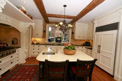 Pseudo-Rustic Cabinetry