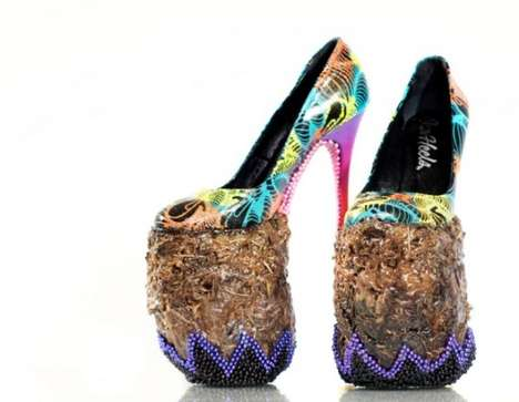 Colorful Craptastic Stilettos
