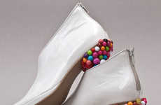 Candy Coated Soles - Designer Belma Arnautovic's Candy Shop On Heels