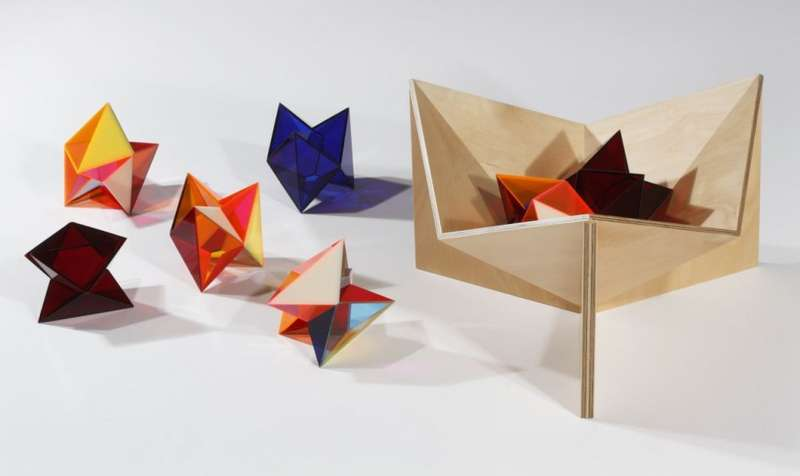 Geometric Origami Furniture