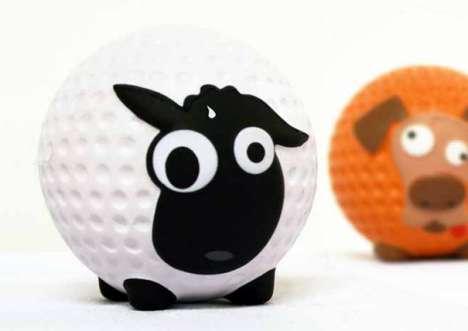 Golf Ball Creatures