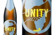 Sports Brand Booze - The Puma Unity Beer is Best Served with the 2010 World Cup