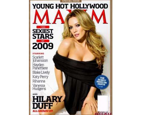 13 Hilary Duff Finds - From Celeb Hipster Fashion Labels to Naughty Youthvertising