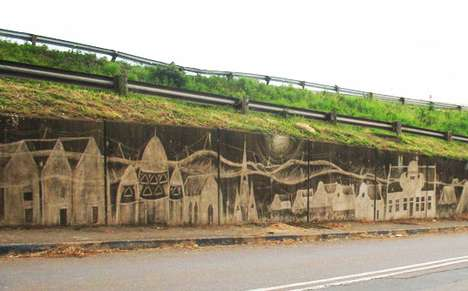 Reverse Graffiti Freeways