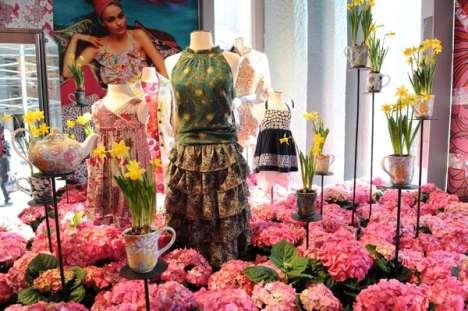 Bouquet Fashion Displays