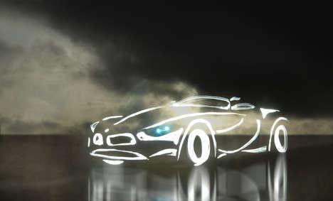 Light Graffiti Cars (UPDATE)